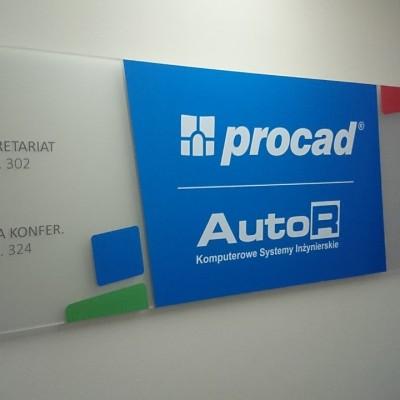 tablica z plexi